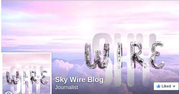 Sky Wire Blog Facebook